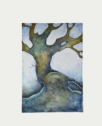 Originální kresba stromu