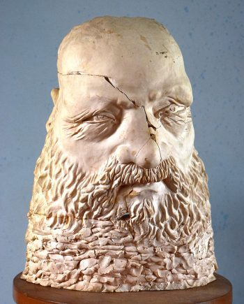 Plastika hlavy Sokrata